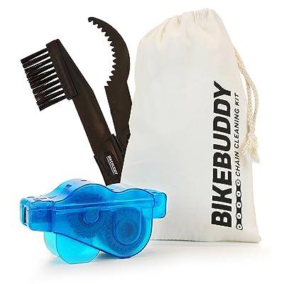 Appareil de nettoyage pour chaîne de vélo en kit – pignon couronne brosse à dents nettoyage
