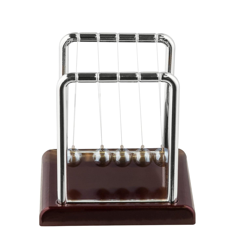 Amazon Newton s Cradle Fun Size Mini Pendulum Ball Desk Toy