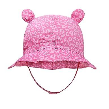 5746fbde9fea3 Amazon.com  vivobiniya Newborn Girl Summer Hats Baby Sun Hats Toddler hat  0-12M  Clothing