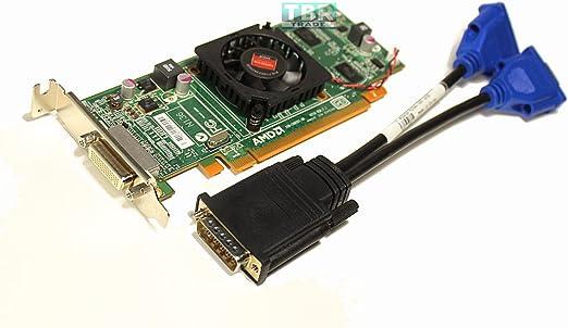 512MB Dell ATI HD6350 DVI DMS59 PCI-Express Low Profile Bracket Video Card Hfkyc 1CX3M