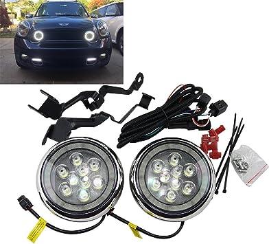 NSlumo LED Rally Driving Lights with