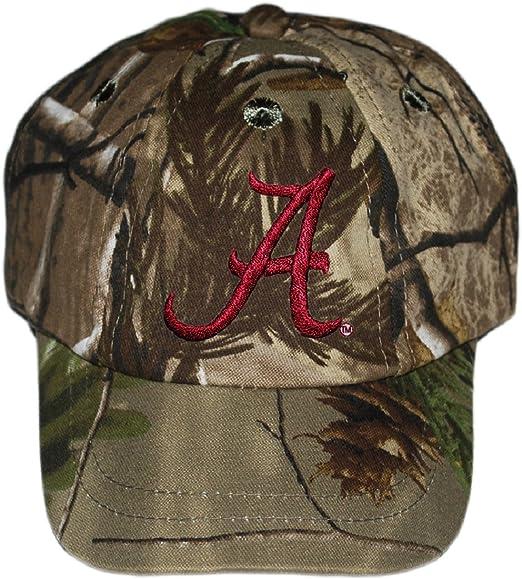 Alabama Crimson Tide NCAA Realtree Camo Infant Newborn Toddler Baby Hat Cap f80377456887