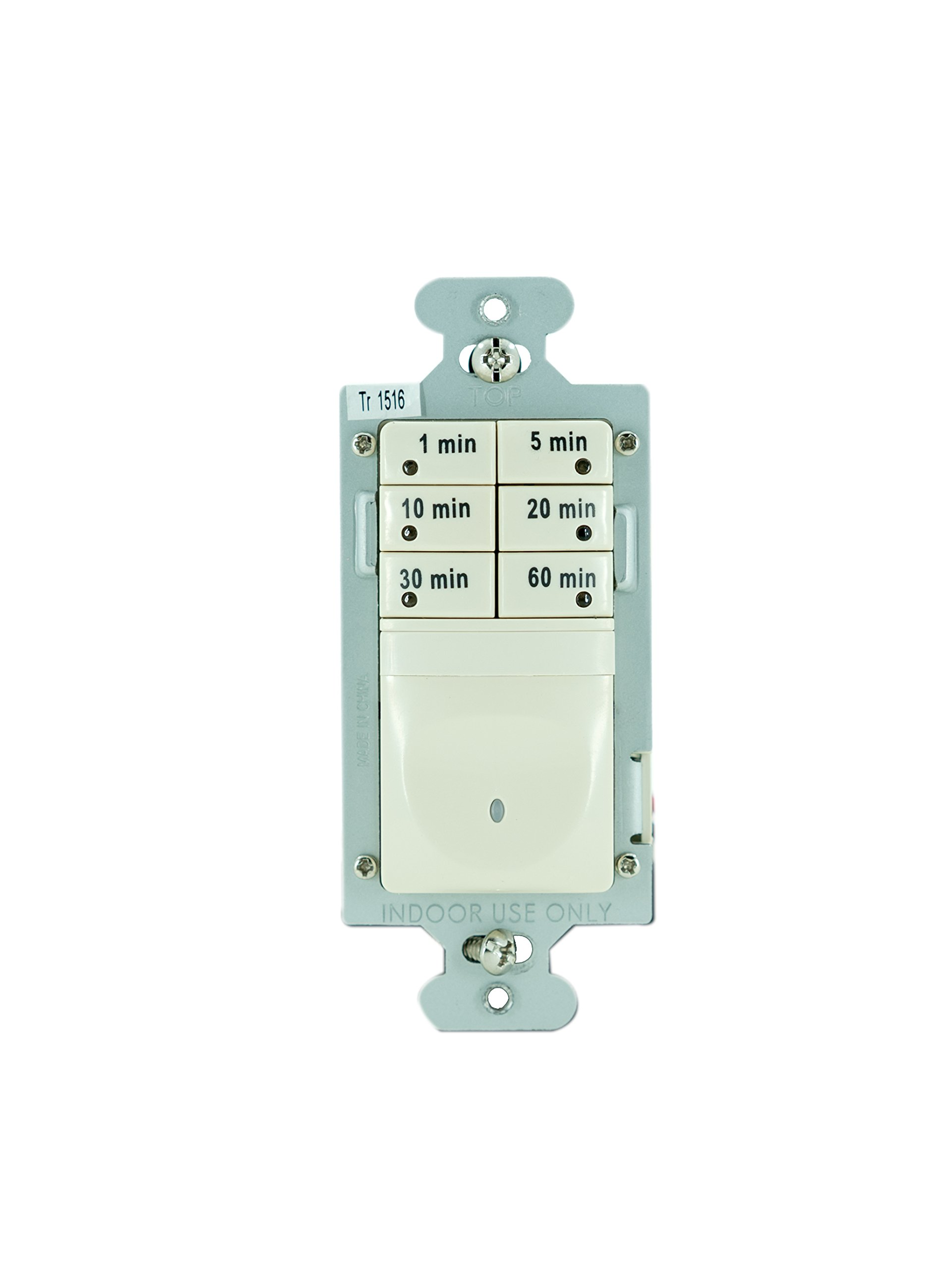 Best Rated In Wall Timer Switches Helpful Customer Reviews T104p3 Wiring Diagram Legrand Pass Seymour 7 Button Digital Switch 120vac 1 6 Hp