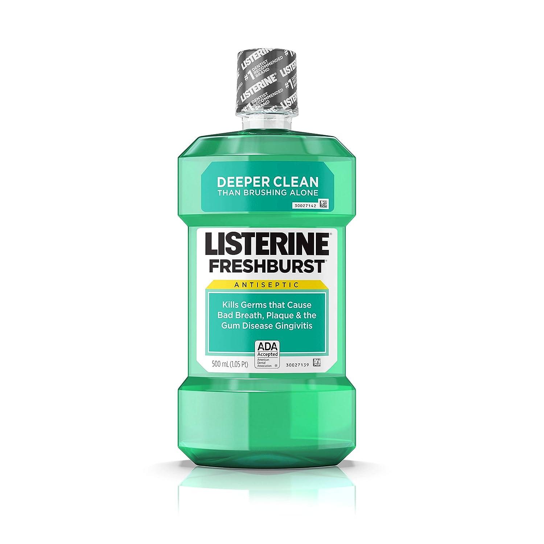 Listerine Antiseptic Mouthwash, Fresh Burst, 500 ml 312547428255