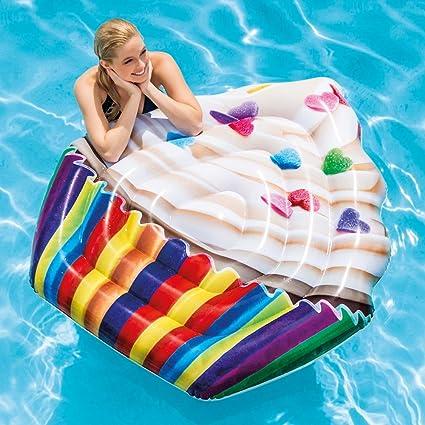 Amazon.com: Intex hinchable Cupcake piscina alfombrilla ...