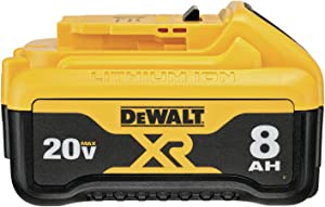 DEWALT DCB208 20V MAX XR 8Ah Battery