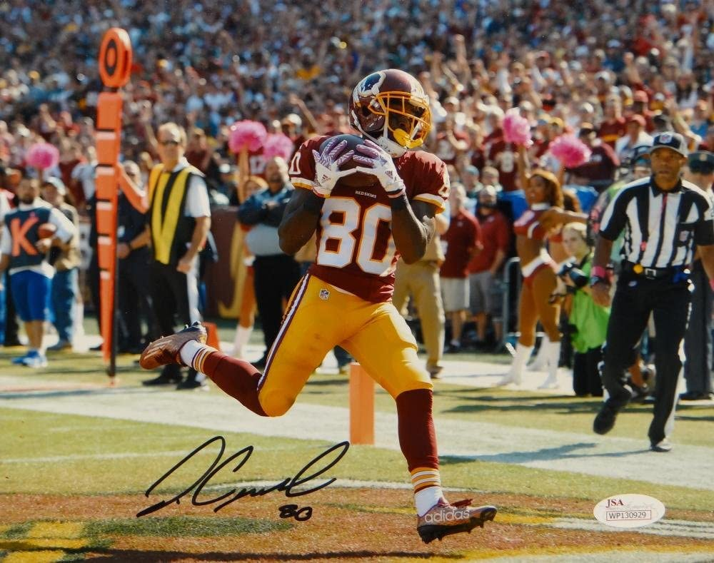 Jamison Crowder Autographed Washington Redskins 8x10 TD Catch ...