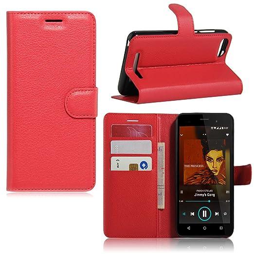 6 opinioni per Guran® Custodia in Pelle per Wiko Lenny 3 (5,0 Pollici) Smartphone di Funzione
