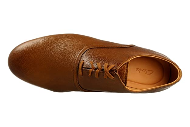 Zapato CLARKS 26130923 Form Lace Tan Marron: Amazon.es