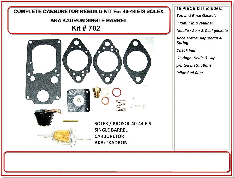 ALL NEW KADRON FLOAT /& PIN ONLY  Brosol 40-44 EIS Radke Services