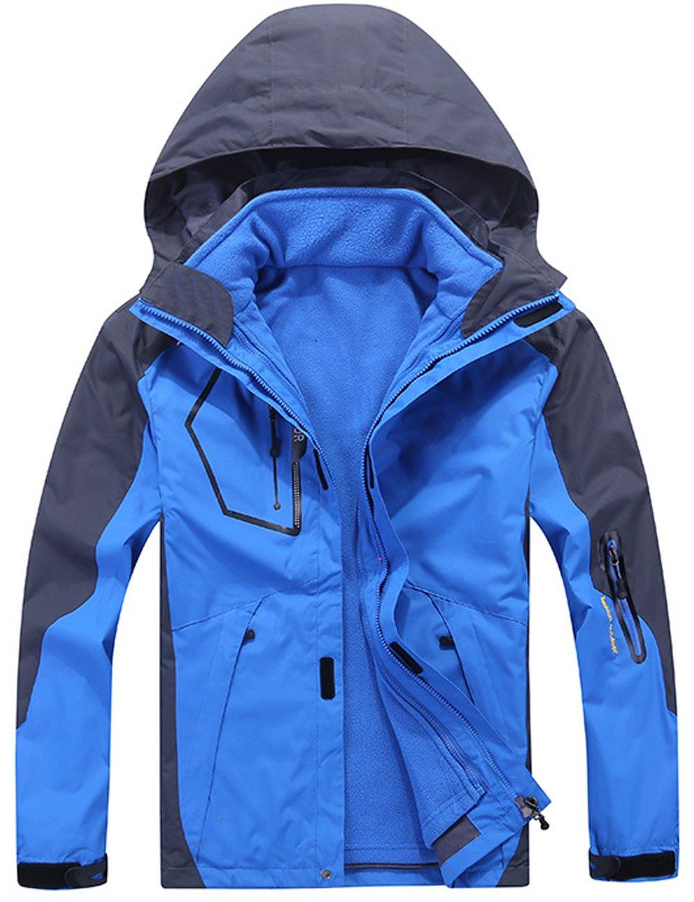 Menschwear OUTERWEAR メンズ B077C45S59 5L|Light-blue W1201 Light-blue W1201 5L