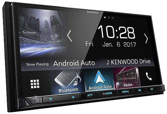 Kenwood Electronics DMX7017BTS 200W Bluetooth Negro Receptor Multimedia para Coche - Radio para Coche (Am,FM, 87,5-108 MHz, 153-279 kHz, 17,6 cm (6.95