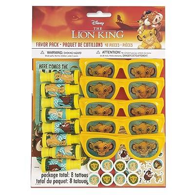 Unique Industries Disney Lion King Favor Pack: Toys & Games