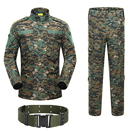 In New Fashion Mens Military Uniform Paintball Tactical Camouflage Camouflage Combat Suit Military Clothing For Hunter And Fishing Shirt+pants Excellent Quality