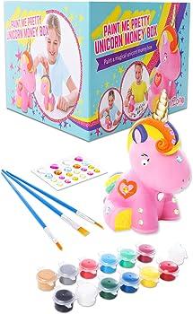 GirlZone Unicorn Painting Craft Kit