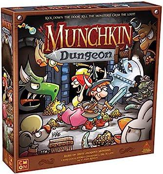 Cool Mini or Not Munchkin Dungeon Juego de mesa: Amazon.es: Juguetes y juegos