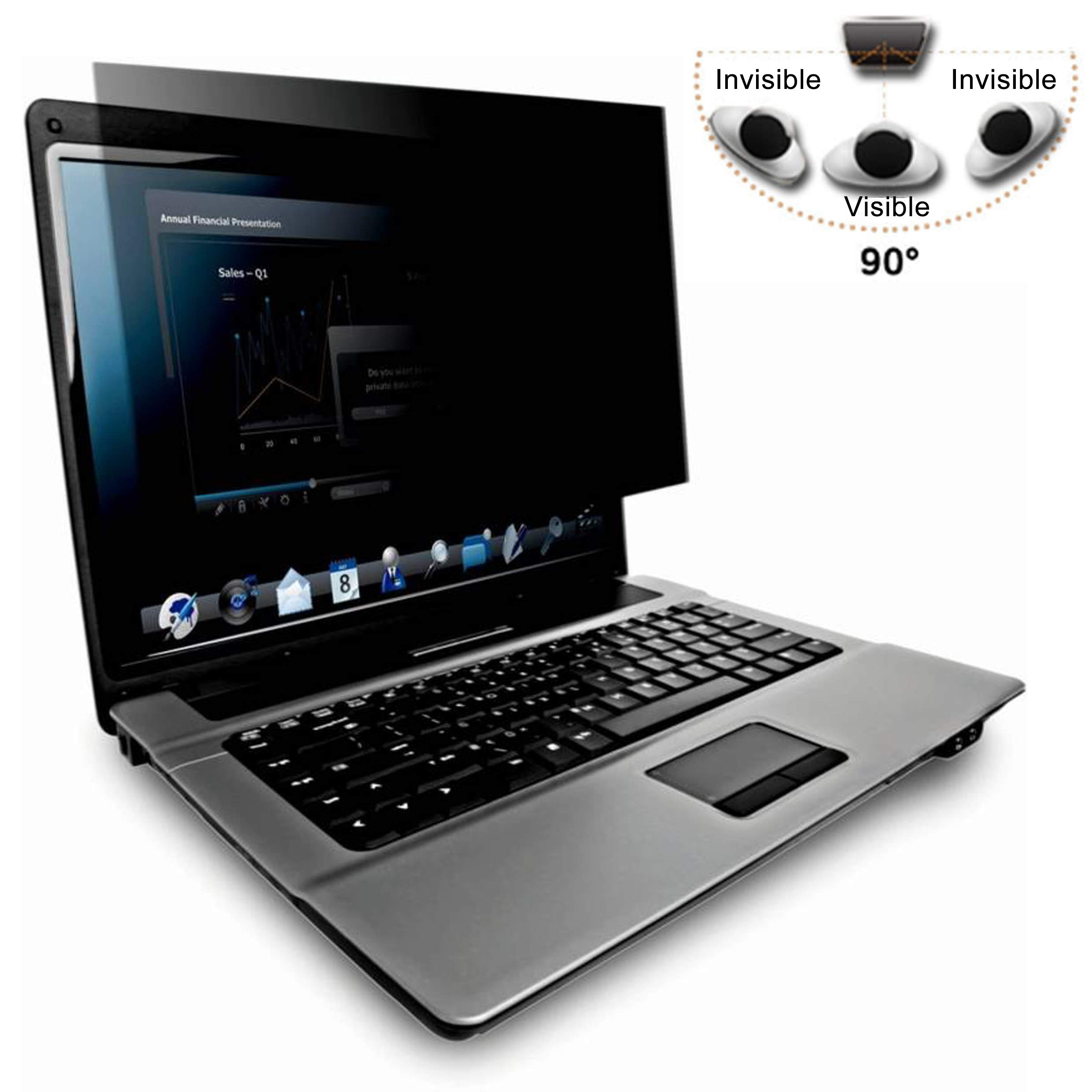 14.0 Inch (Diagonally Measured) Privacy Screen Filter for Widescreen Laptops for Data confidentiality Anti Glare