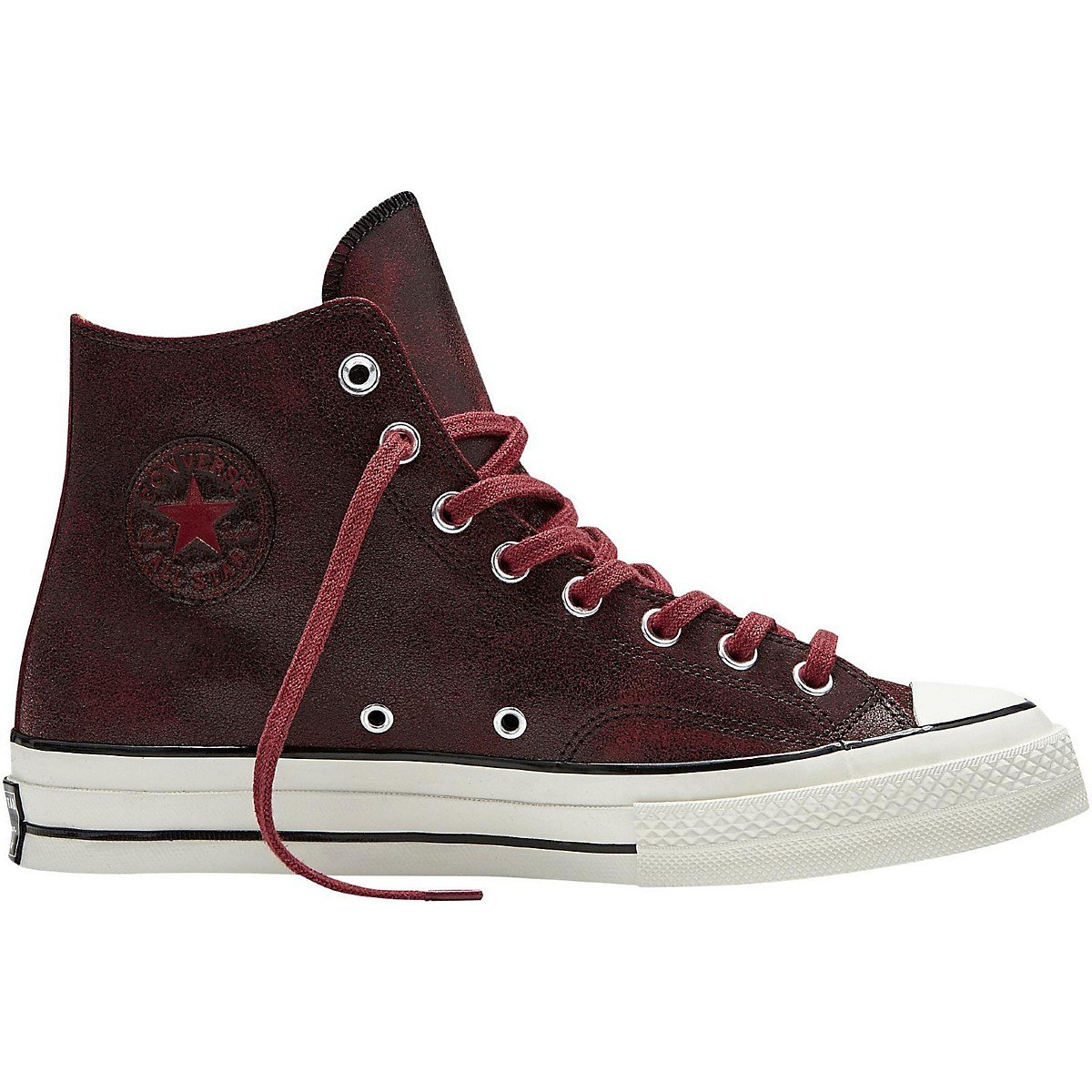 7a223ec0fd3a Amazon.com  Converse Chuck Taylor All Star  70 Cracked Red Leather Hi  Basketball Shoe Mens 10 Womens 12  Shoes
