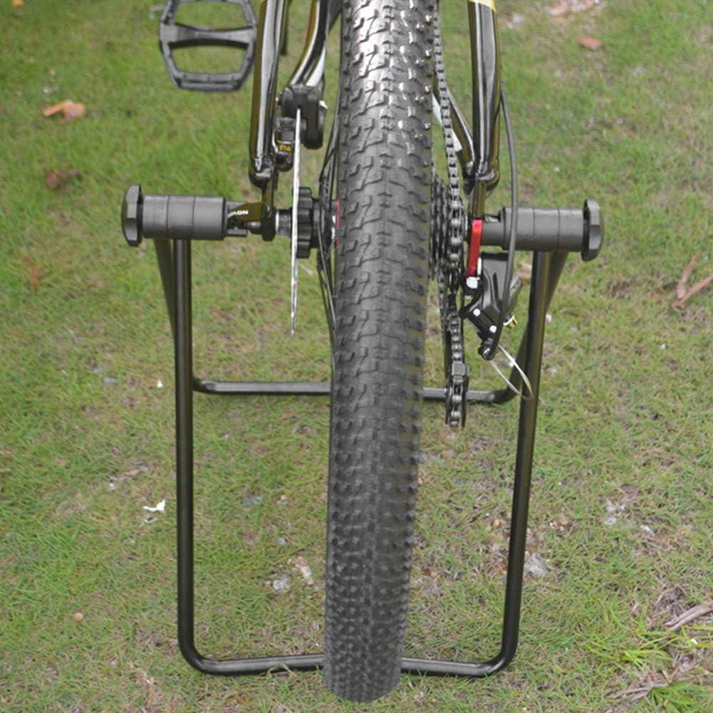 Soporte de Estacionamiento de Bicicletas Plegable Reparaci/ón de Bicicletas Soporte de Cubo de Rueda Triple Soporte de Pie Soporte de Bicicleta Soporte para Bicicleta de Carretera