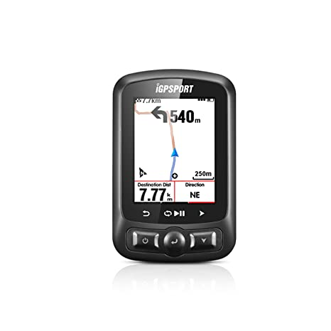 iGS618 (versión española) - Ciclo computador grabador datos y rutas GPS+GLONASS+Beidou. Navegación y seguimiento. Pantalla 2.2