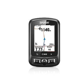 iGPSPORT iGS618 (versión española) - Ciclo computador grabador datos y rutas GPS+GLONASS