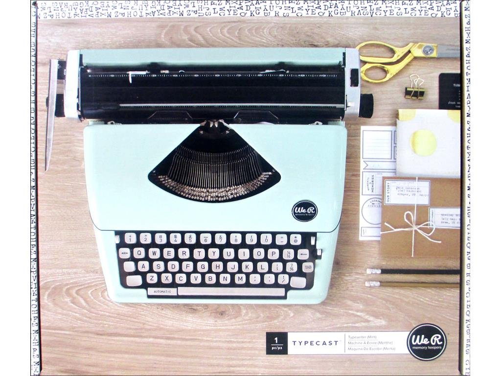 Typecast Retro Typewriter by We R Memory Keepers | Mint by We R Memory Keepers