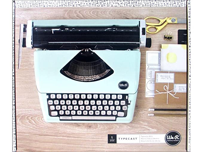 We R Memory Keepers Máquina De Escribir Typecast Typewriter ...