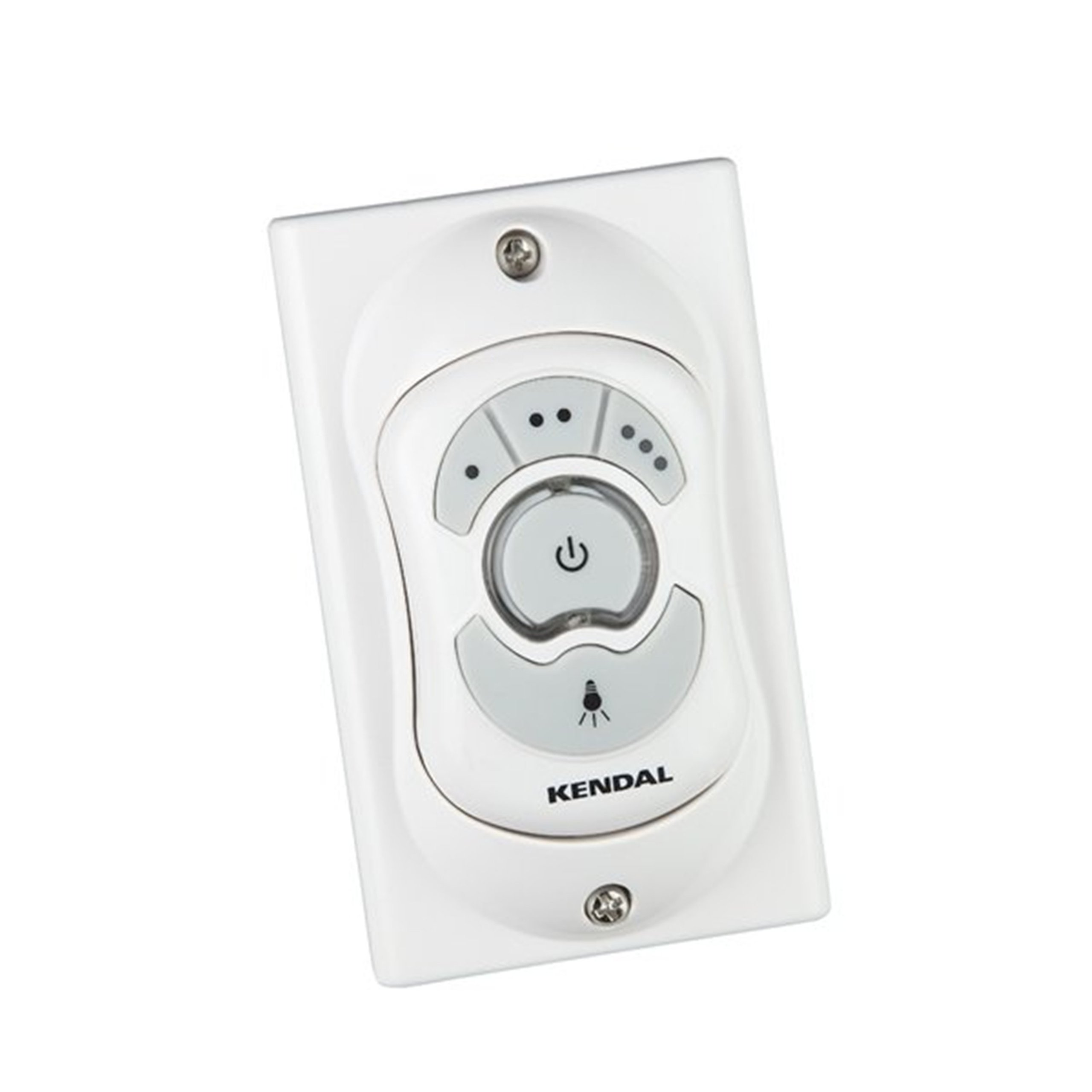 Kendal Lighting RC8000 Wall Mounted/Hand-Held Remote Control, White Finish by Kendal Lighting