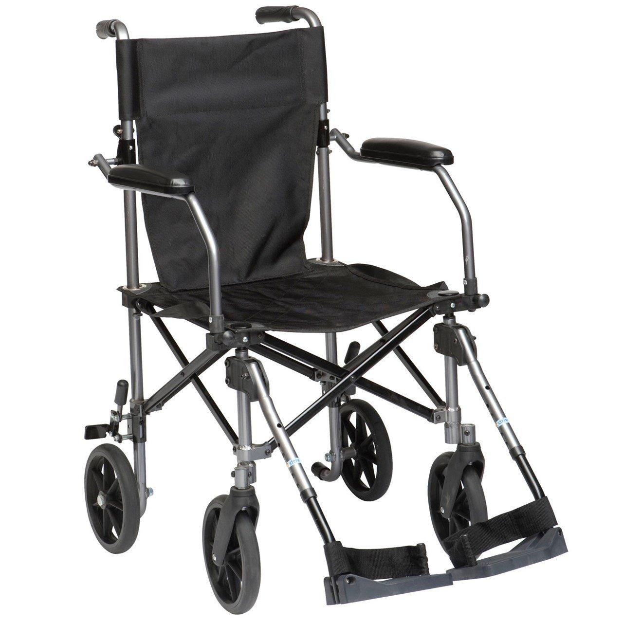 Drive Medical - Silla de ruedas de viaje: Amazon.es: Salud y cuidado personal