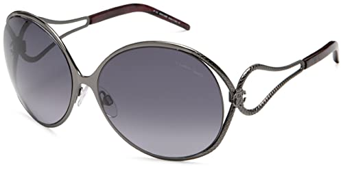 Amazon.com: Roberto Cavalli 525 metal anteojos de sol de la ...