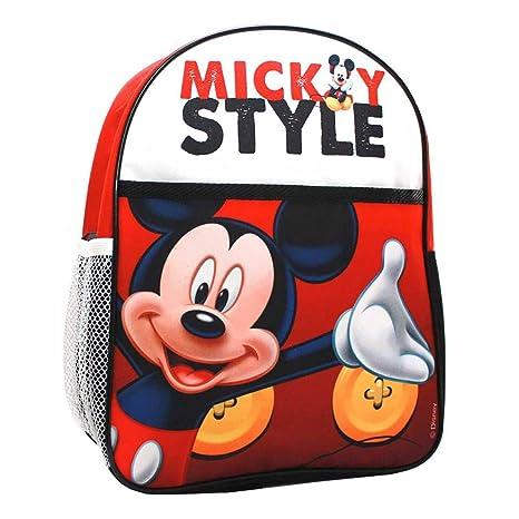 Kids Euroswan - Mochila WD92134 Mickey Medidas 32,2 x 27,6 x 3