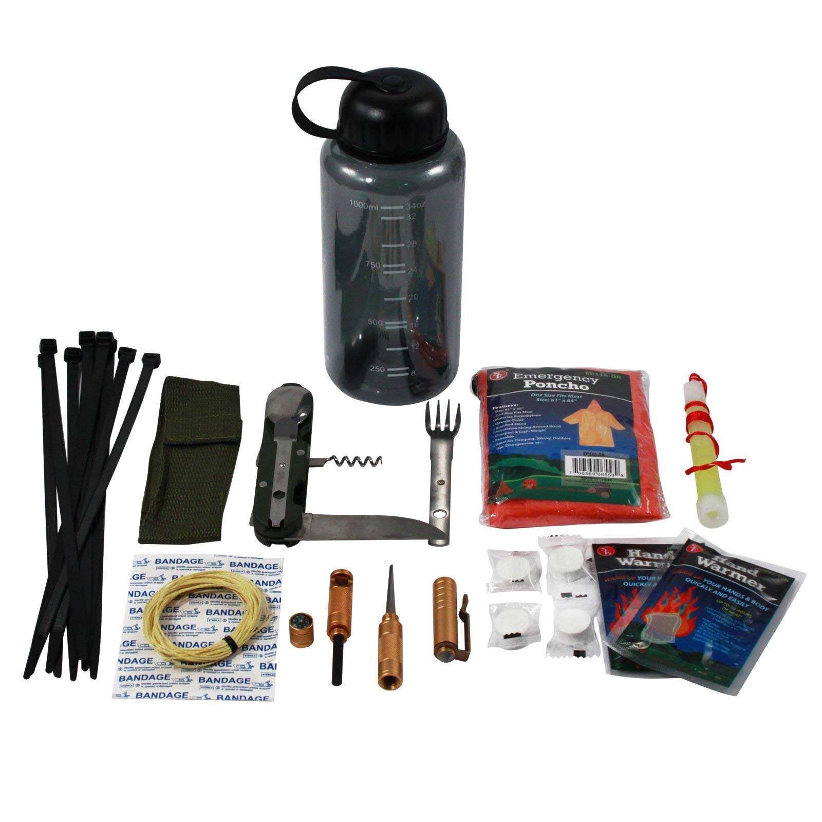 26pc Outdoor Prepardness Starter Camping Kit by Essential Wilderness (Image #1)