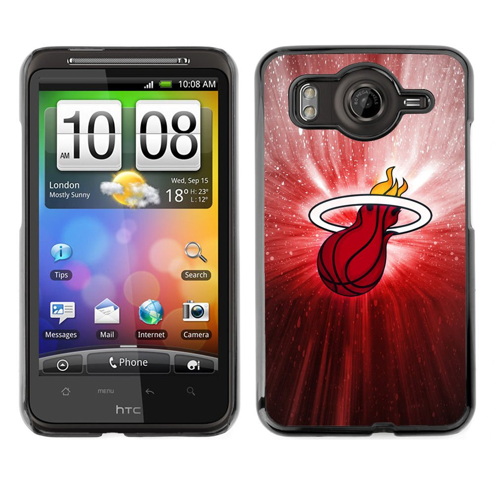 Amazon.com: CASER CASES / HTC G10 / Heat Basketball Poster / Slim Black Plastic Case Cover Shell Armor: Cell Phones & Accessories
