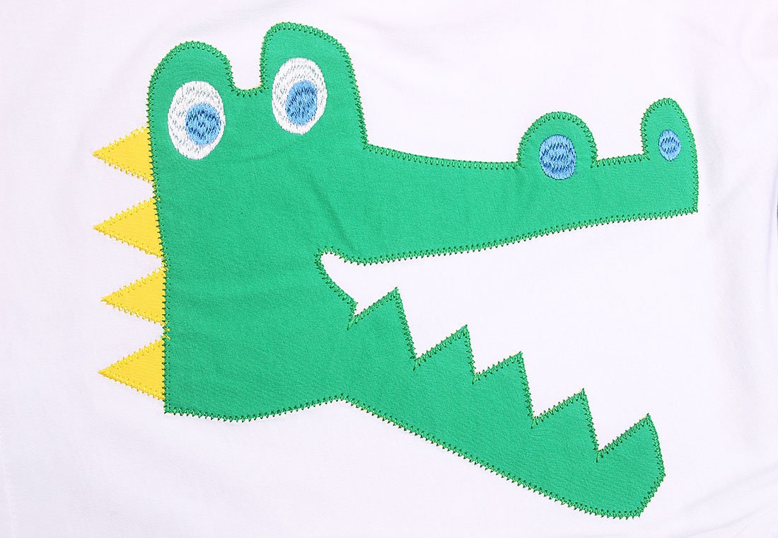 Dizoon Little Boys Tee Alligator Summer Tops Toddler Crew Neck Casual T-Shirts by Dizoon (Image #5)