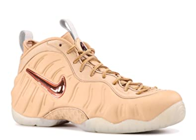 new style 69a1f d932f Nike Men Air Foamposite Pro PRM As Qs (tan/Vachetta tan/Rose Gold-sail)