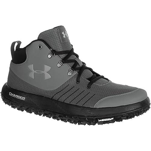 Under Armour Men's UA Overdrive Fat Tire Graphite/Black/Aluminum Boot