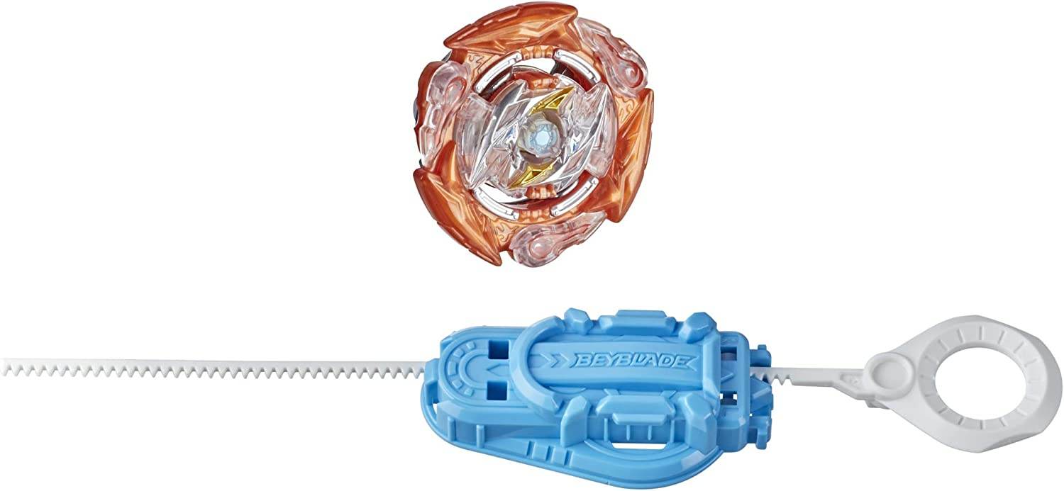 BEYBLADE Burst Surge Speedstorm Glide Roktavor R6 Spinning Top Starter Pack -- Stamina Type Battling Game Top with Launcher, Toy for Kids