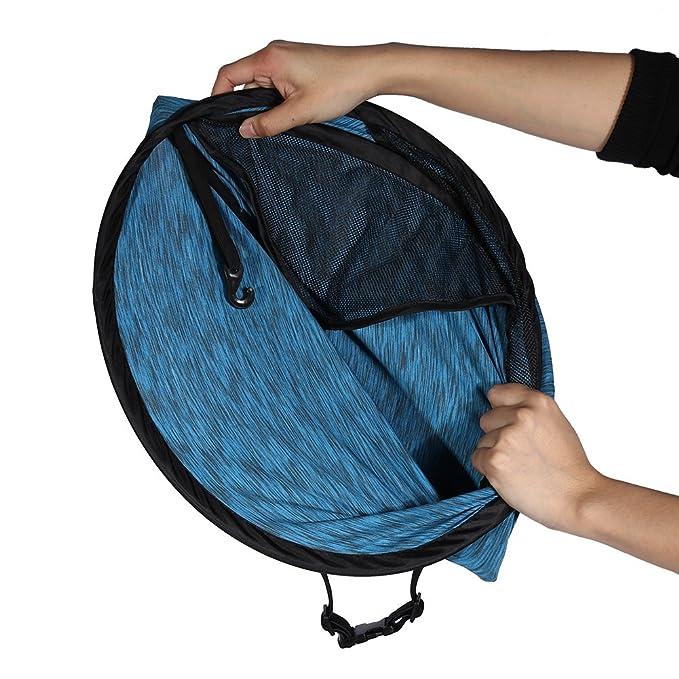 Cochecito de beb/é Cochecito Sombrilla Universal Buggy Coche infantil Asiento de coche Toldo Flexible Lycra Cubierta de bloqueo solar Azul