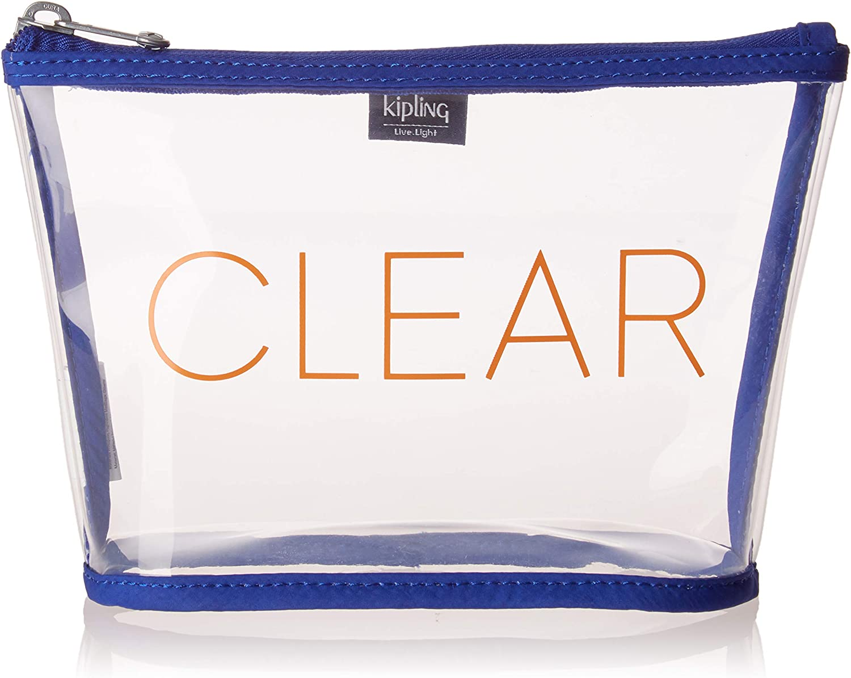 liters Laser Blue 1 cm Kipling Cleared Organiseur de Sac /à Main Bleu