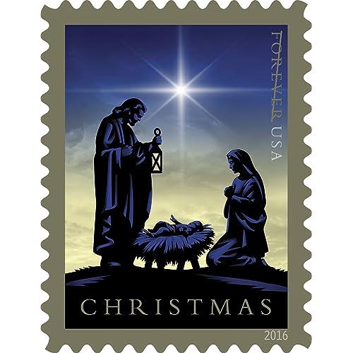 christmas stamps postage amazon com