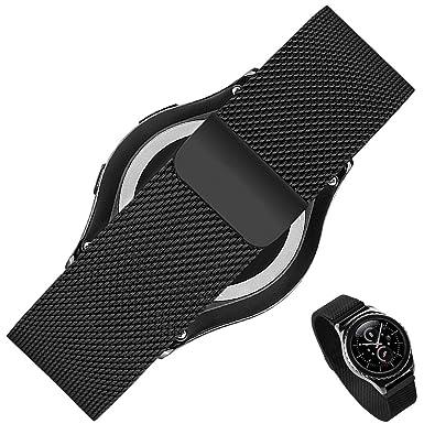 Correa de caballero para reloj Rerii de 20 mm para Samsung Galaxy Gear S2 Classic,