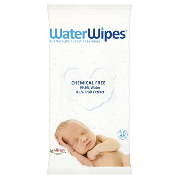 Water Wipes Baby Wipes 10pk 1 pack (Case of 72)