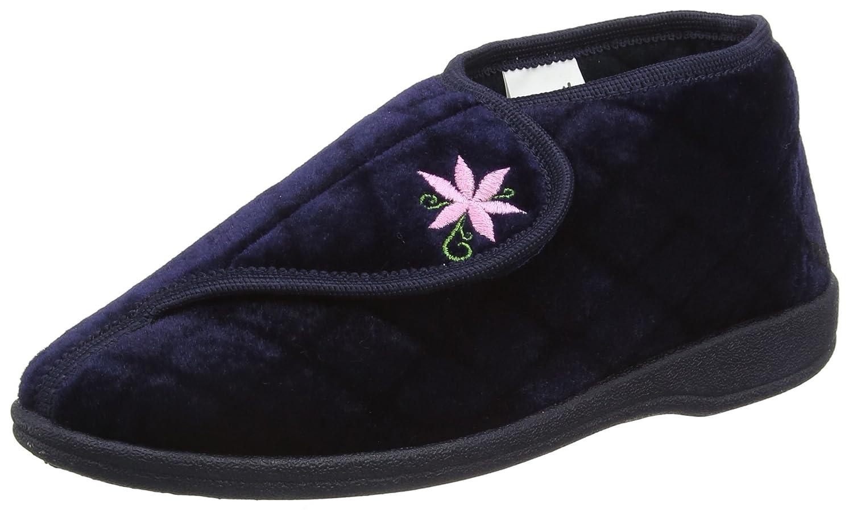 Dunlop Celia, Zapatillas de Estar por Casa para Mujer 35.5 EU|Azul - Azul (Navy)