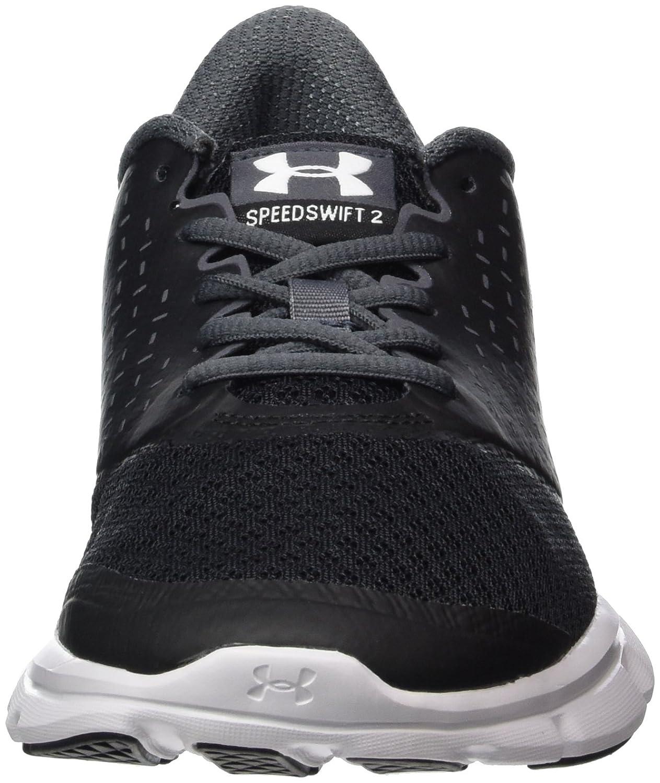 Under Armour Women's Speed Swift 2 Running Shoe B01GQIZVOY 9.5 M US|Black (001)/Rhino Gray