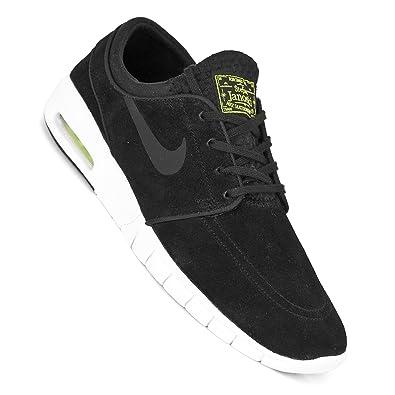 the latest 5ff9f 6e12e Nike SB Stefan Janoski Max L Shoes - Black Cyber White  Amazon.co.uk  Shoes    Bags