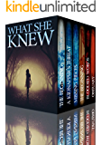 What She Knew Super Boxset: A Riveting Mystery Series (English Edition)