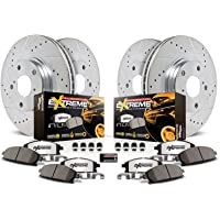 Deals on Power Stop K6803-36 Front and Rear Z36 Truck & Tow Brake Kit