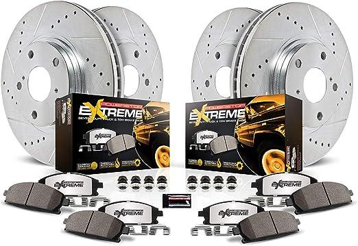 Power Stop K3046-36 Z36 Truck /& Tow Rear Brake Kit