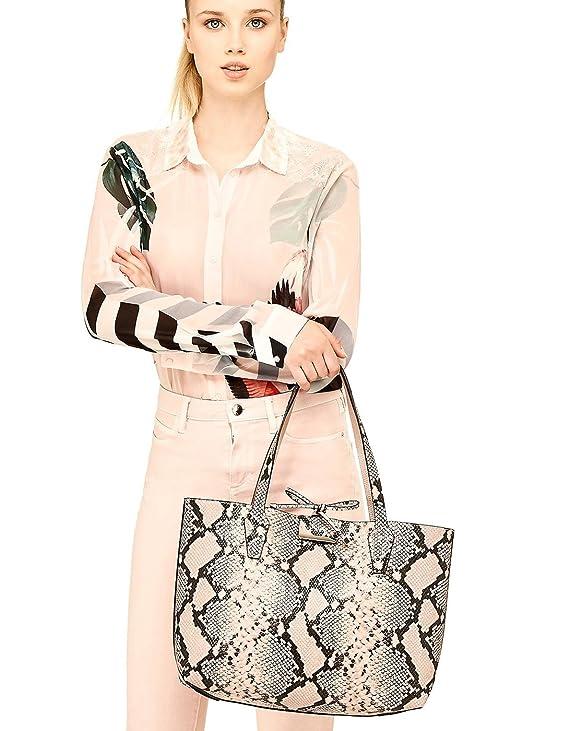 2e57c39ad Guess bolso reversible serpiente shopper rosa Bobbi (Única - Rosa):  Amazon.es: Ropa y accesorios