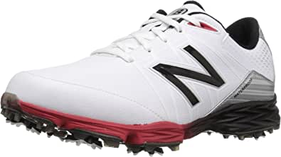 New Balance Men's NBG2004 Waterproof Spiked Comfort Golf Shoe Nbg2004 Golf Shoe